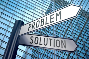 Signpost-illustration-two-arrows-problem-and-solution