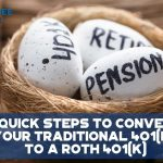 4 Quick Steps To Convert Your Traditional 401(k) To A Roth 401(k) - F