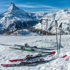 skis-and-poles